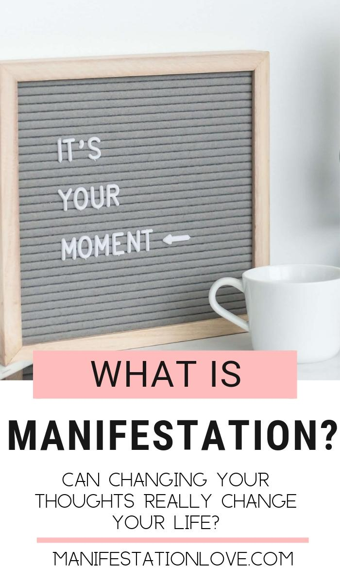 What is Manifestation? Can changing Your Thoughts Really Change Your Life?  - ManifestationLove.com